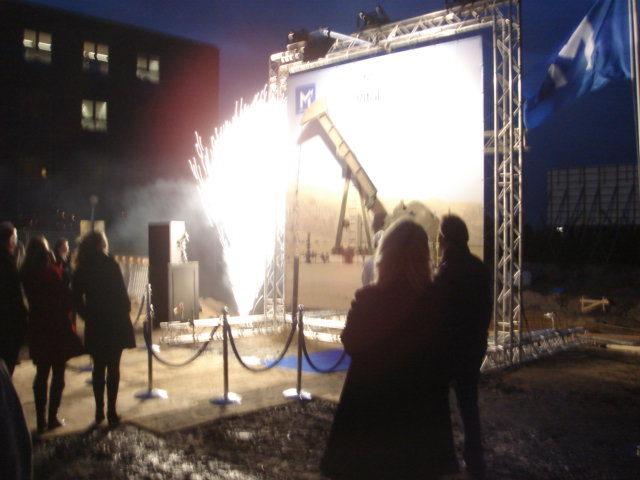 spectaculaire start bouw
