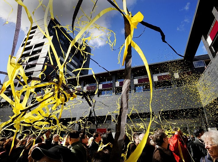 confetti, opening, feest